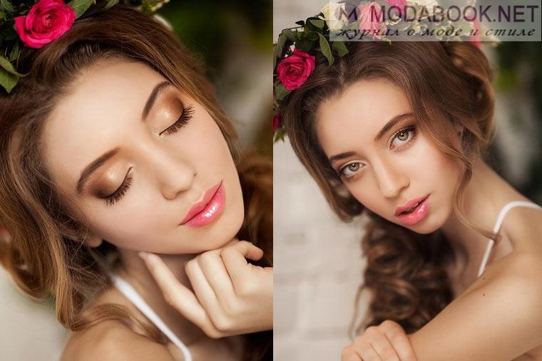 Самые модные вариации свадебного макияжа 2015