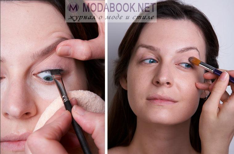 Оформление глаз для свадебного макияжа на дому