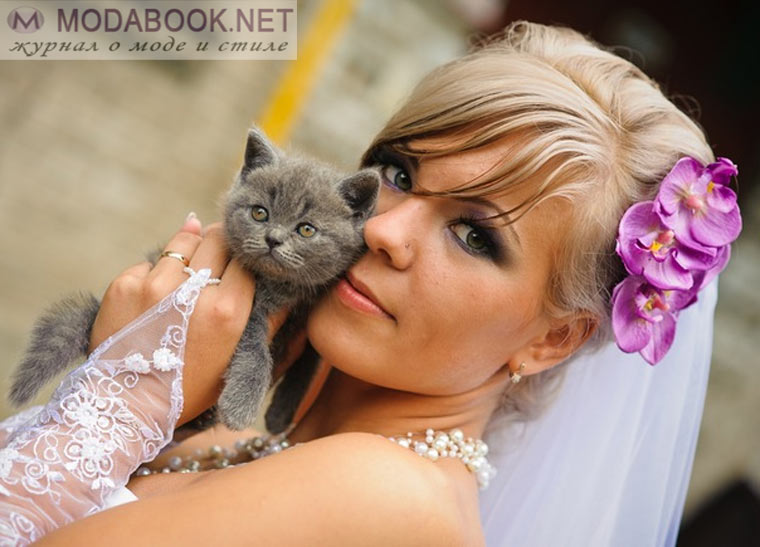 Свадебный макияж своими руками  для блондинок