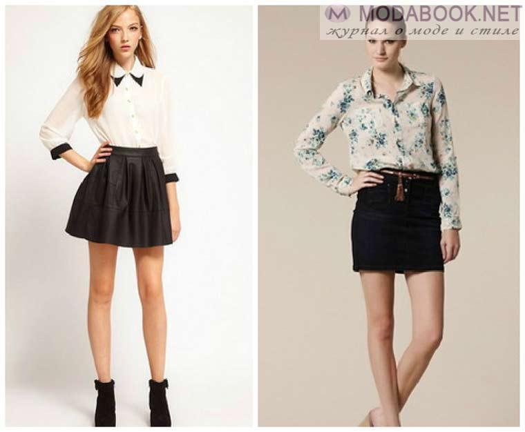 Деловой стиль мини-юбок 2015