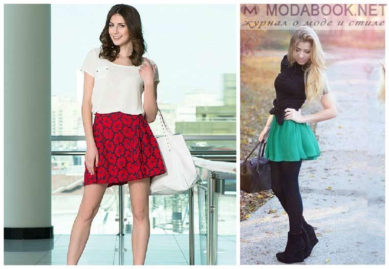 Пышные мини юбки-2015