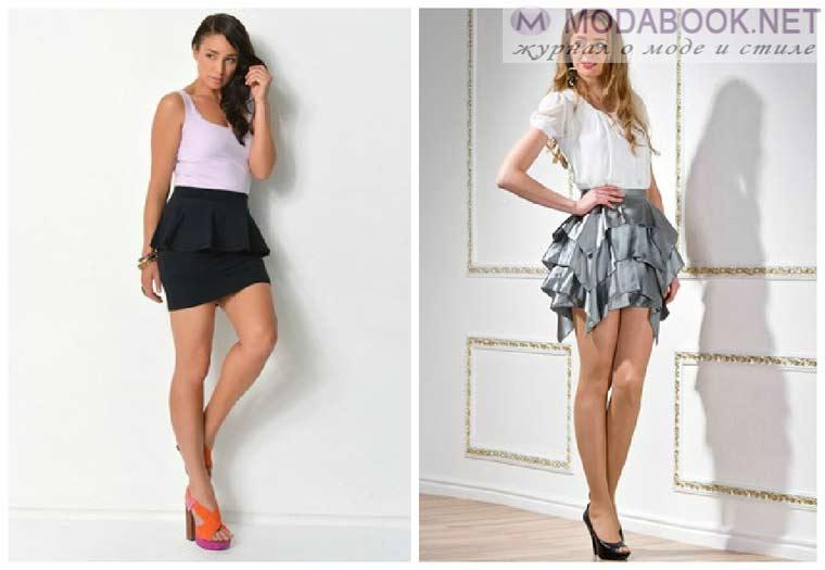 Летние короткие юбки 2015