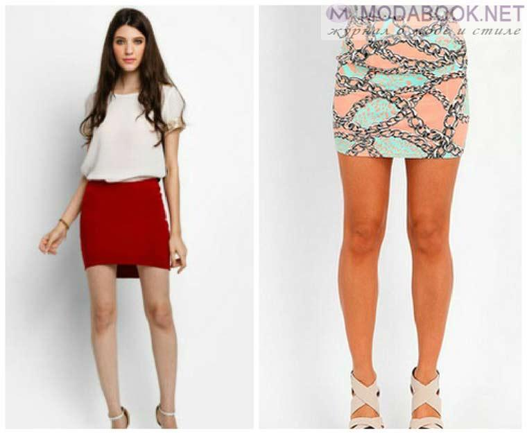 Модные мини-юбки на лето 2015 года