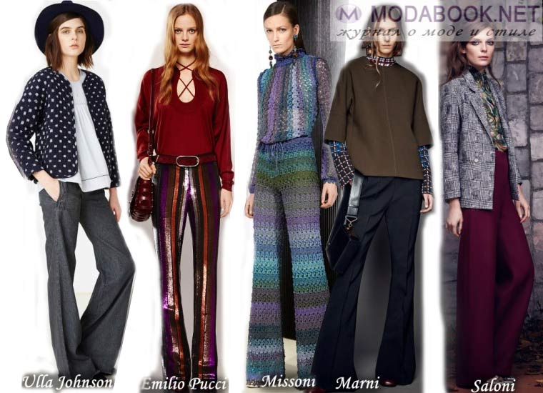 Осенняя мода 2015 года в стиле70-х