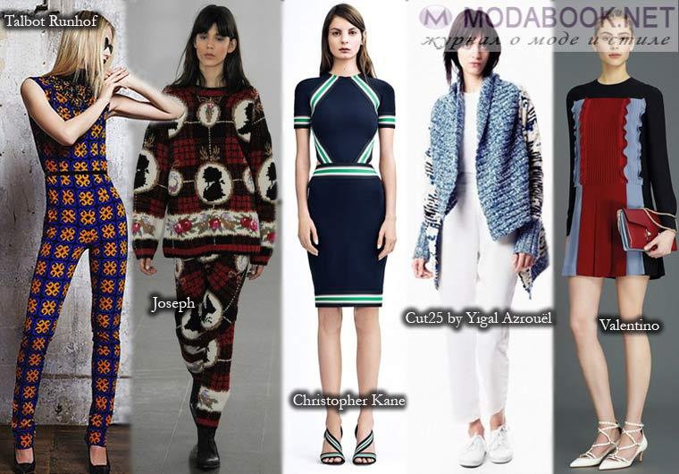 Пэчворк – вариант модной осенней тенденции 2015 года