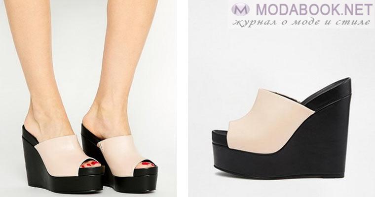 Сабо как вид деловой женской обуви