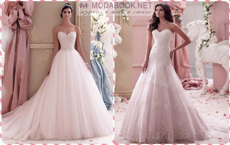 Фото самого модного свадебного платья поможет выбрать фасон