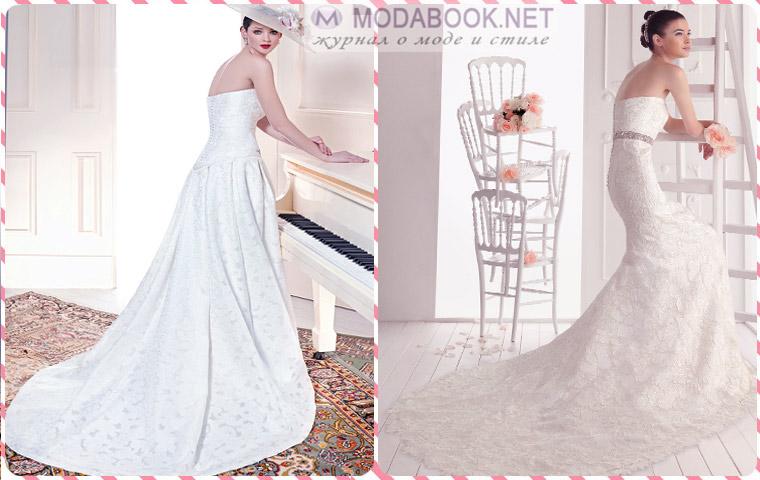 Классические свадебные платья на 2015 год