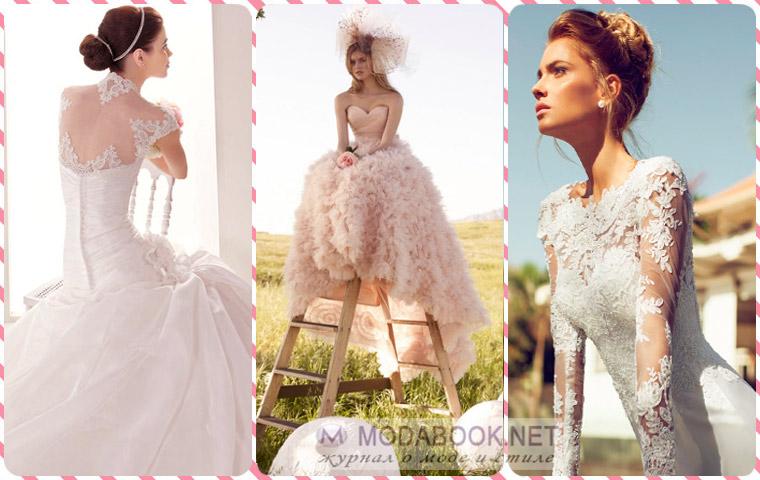 Как делать фото со свадебными платьями