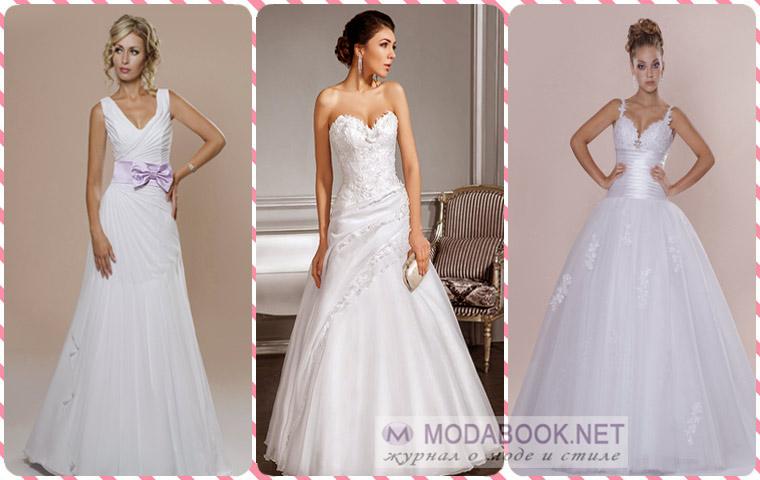Какое свадебное платьеподходит вам по фасону