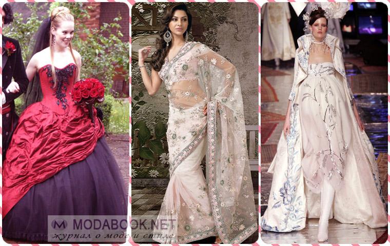 Платья в готическом стиле и вариации на тему этнических и исторических костюмов