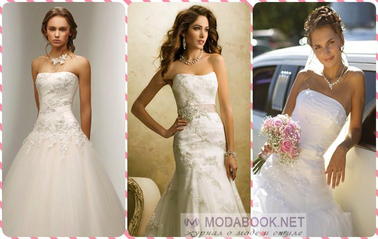Самые модные и красивые свадебные платья -2015 года