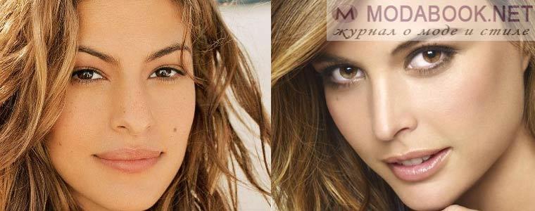 Дневной макияж кареглазых