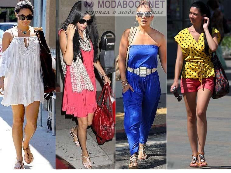 Разнообразие стилей женских сандалий