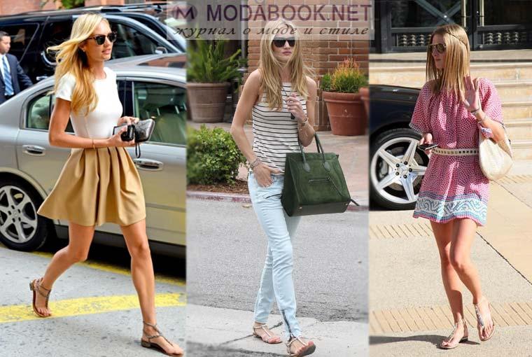 С чем носить греческие сандалии