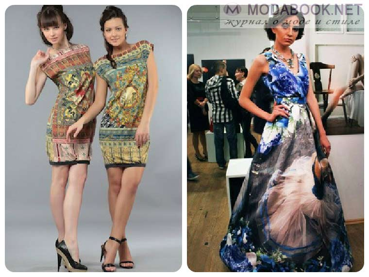 Вечерние летние платья-2015