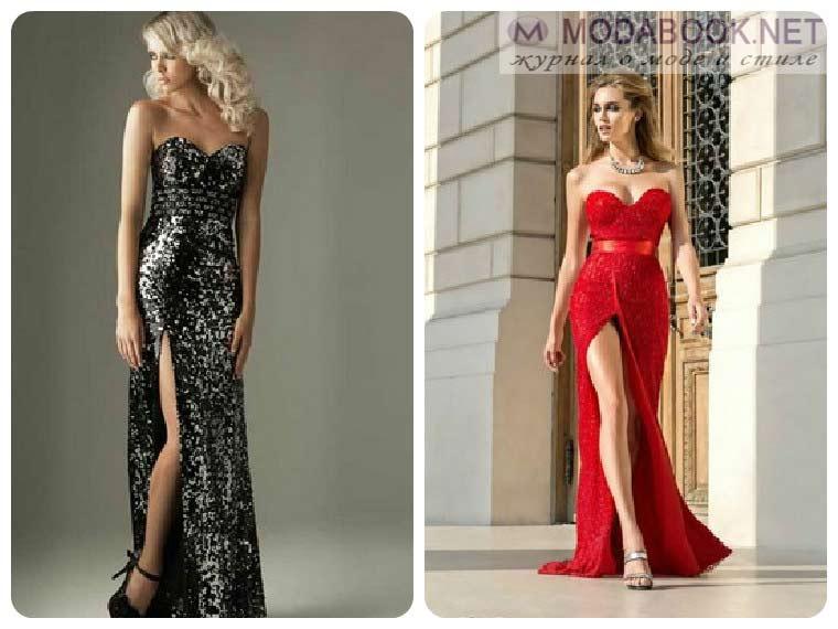 Экстравагантные вечерние платья 2015