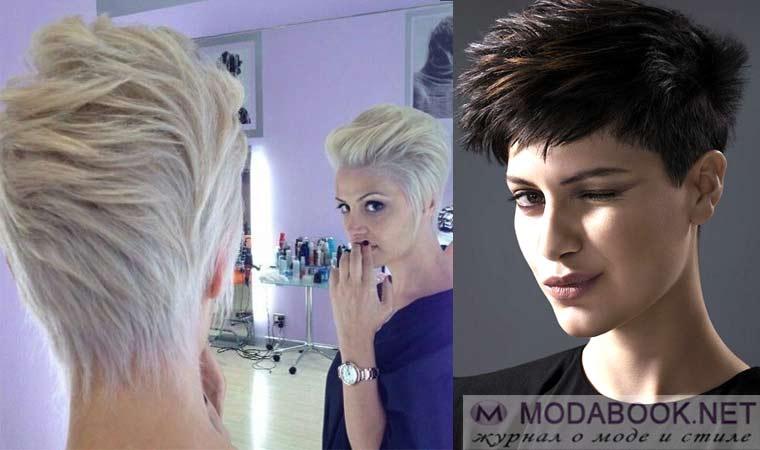 Женские стрижки на короткие волосы фото пикси