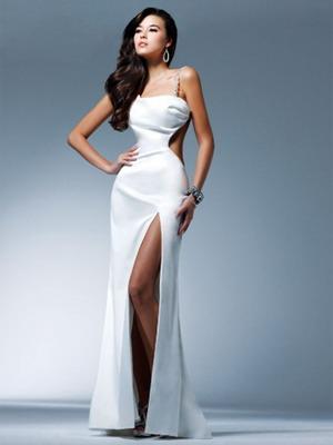 Белое платье 2016 в аристократичном стиле