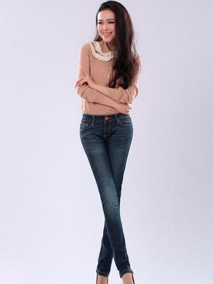 Модные женские зимние джинсы 2015-2016