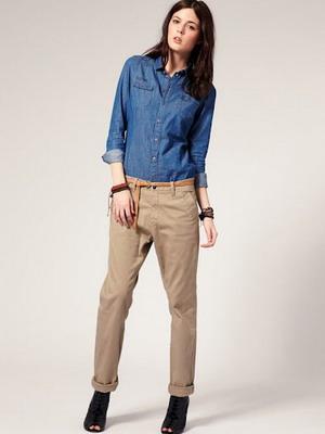 Смелая модель джинс осень-зима 2015-2016