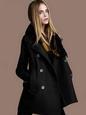 Модное драповое пальто 2015-2016