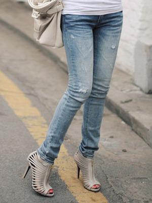 Как правильно носить джинсы