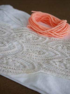 Материалы для украшения платья