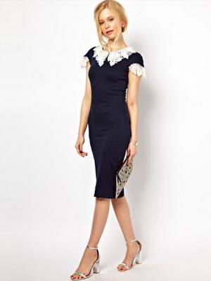Как украсить простое платье