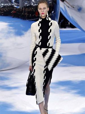 Модное вянное платье зима 2016