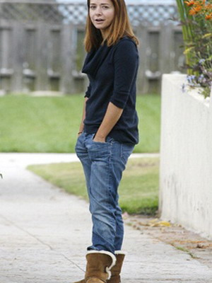 Угги и джинсы