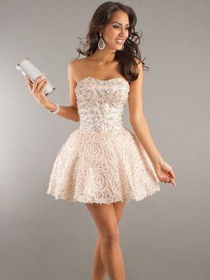 Короткая модель свадебного платья 2016