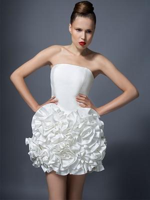 Короткое платье на свадьбу 2016