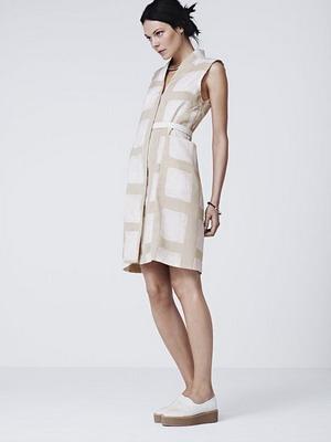 Платье в клетку для весны 2016