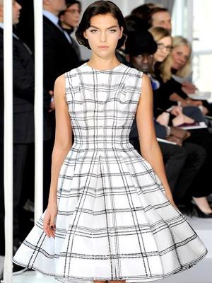 Платье в клетку лето 2016