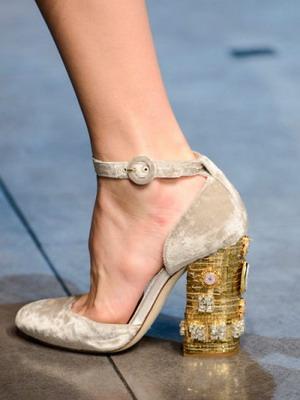 Модные дизайнерские туфли весна-лето 2016