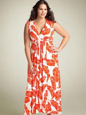 Платье для полных сезона лето 2016