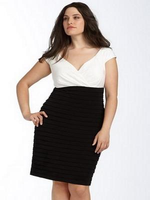 Как правильно выбрать юбку полной девушке