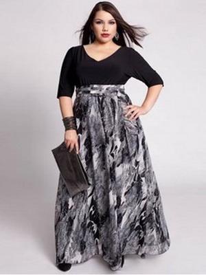 Модныя юбка в пол 2016