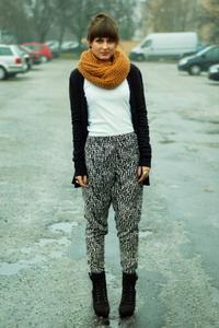 Модные расцветки зимнего шарфа сезона 2018