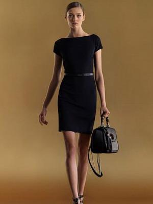 Черное платье в стиле К.Шанель