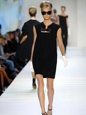 Гламурное черное платье