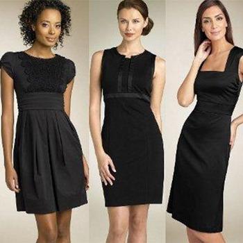 Маленькое черное платье в стиле Коко Шанель