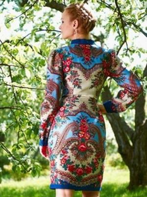 Вечерние варианты платья в народном стиле