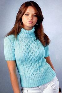 Вязанные свитера женские 2015