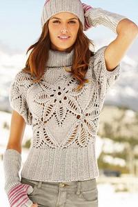 Вязаный свитер схема. Вязаные свитера 2014 | Лаборатория домашнего