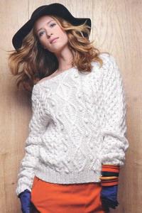 О моде: вязанные свитера женские 2013