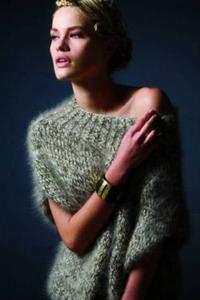 Вязанные свитера женские из мохера