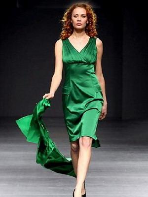 Сочный зеленый образ