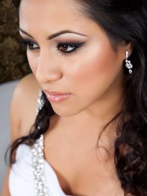 Макияж на свадьбу  для брюнеток с карими глазами